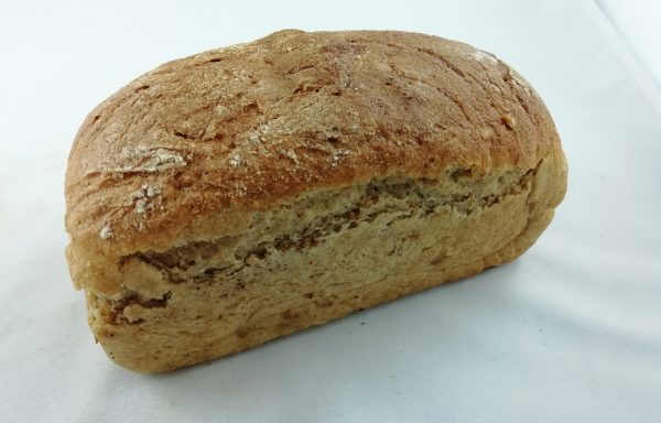 Chleb razowy z soją